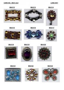 Rhinestone and Acrylic Stone Buckles
