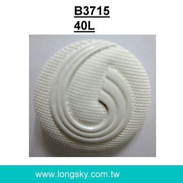 (#B3715/40L) Fancy big nylon shank buttons for lady pantsuits