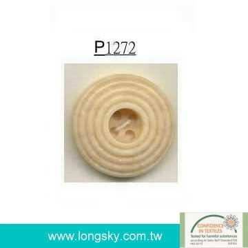 Ivory button for woman's coats and sweater (#P1272)