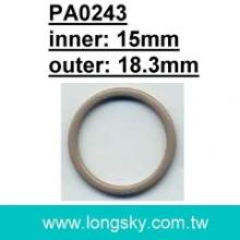 (PA0243/15mm) strap slider, underwear accessories