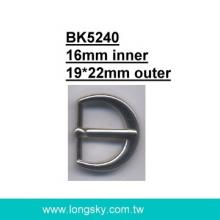 fashion metal U-shaped belt buckle (#BK5240/16mm inner)
