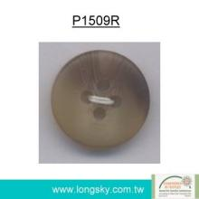 Popular Rod Polyester Resin Button for Sleepwear (P1509R)