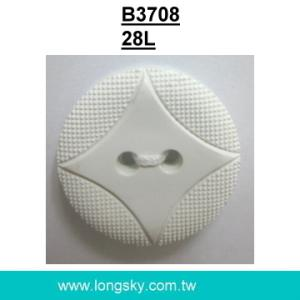(#B3708/28L) nylon button with 2 holes for lady clothing