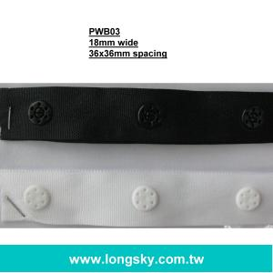 (#PWB03) snappy button tape for clothes