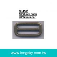 metal slider for belt or strap (BK4306/38mm)