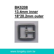 Small Metal Buckle for Coats (#BK5208-13.4mm)