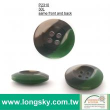 (#P2310) 30L 19mm military camoflage matte colorful looked button
