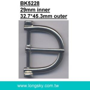 U-shaped belt buckle with prong (#BK5228/29mm inner)