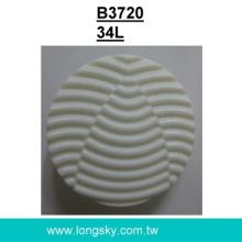 (#B3720/34L) Fancy geometry wave nylon buttons for suit coat