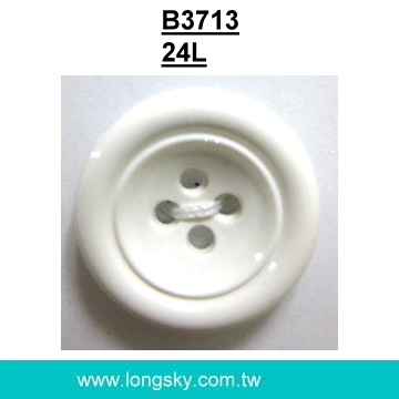 (#B3713/24L) Fancy round classical nylon button for sweaters