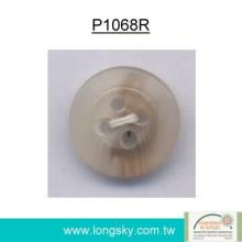 Popular Rod Polyester Resin Button for Shirt (P1068R)