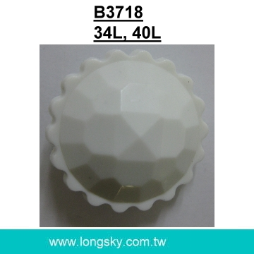 (#B3718/34L,40L) sunflower button with shank for lady coats