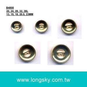 (#B4800) fashion 2 hole ABS gold buttons