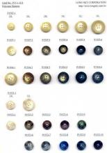 Polyester Buttons for Garments, Hats, Bags, Shoes