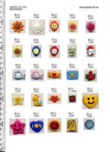 plastic decorative children buttons kids clothing buttons