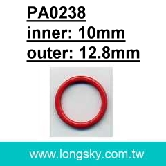 (PA0238/10mm) Nylon coated metal bra adjusters