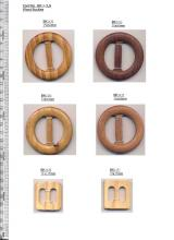 Wooden buckles for belts (#BK14-5)