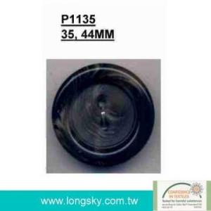 Popular plastic button for man's coats (#P1135)