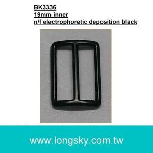 (#BK3336) 19mm curved belt buckle for tie