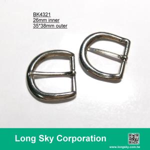 (#BK4321) 26mm inner horseshoe shape metal buckle for belt