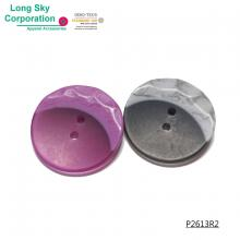 (#P2613R2) 2 hole special moon style button for suit