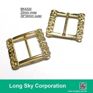 (#BK4320) 25mm inner metal fancy buckle for lady belt