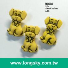 (#B3456) 28mm Cute puppy craft button